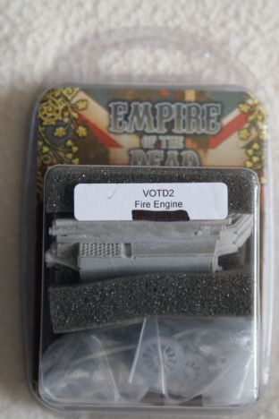Westwind 28mm Empire Of The Dead VOTD-02 Fire Engine